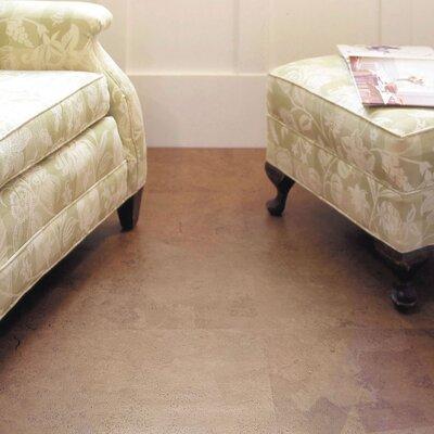 "WE Cork Avant Garde 11-7/8"" Engineered Cork Oak Hardwood Flooring in Moss Tuscany"