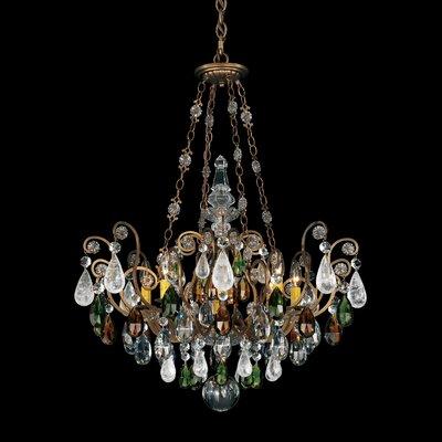 Schonbek Renaissance Rock Crystal 8 Light Chandelier