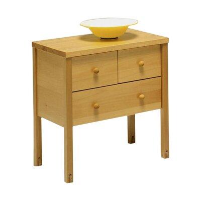 MS Schuon Nachttisch Willi mit 3 Schubladen
