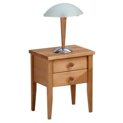 MS Schuon Nachttisch Fago mit 2 Schubladen