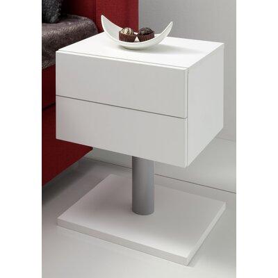 MS Schuon Nachttisch Boxdream mit 2 Schubladen