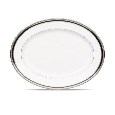 Noritake Austin Platinum Oval Platter