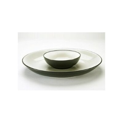 Noritake Colorwave Round Chip and Dip Tray