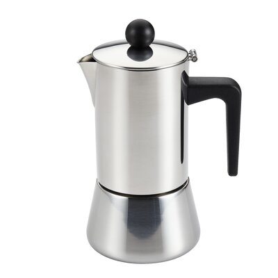 Insulated Latte Espresso Maker Size: 4 Cup