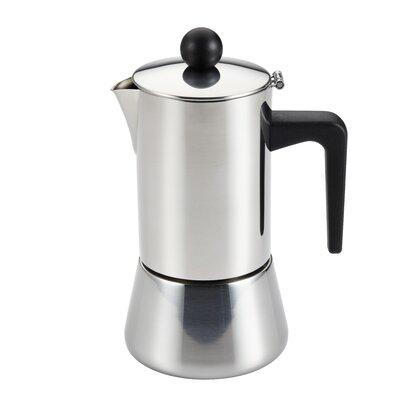 Insulated Latte Espresso Maker Size: 4 Cup