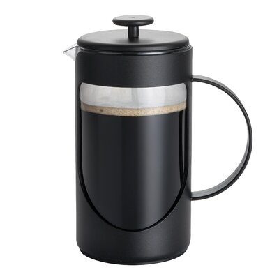 3-Cup Ami-Matin French Press Coffee Maker Size: 3 Cup, Color: Black