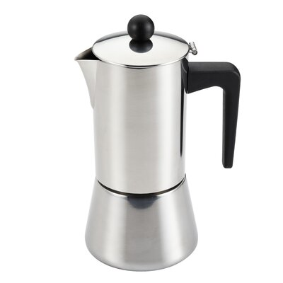 Insulated Latte Espresso Maker Size: 6 Cup