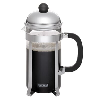 Monet French Press Coffee Maker Size: 8 Cups