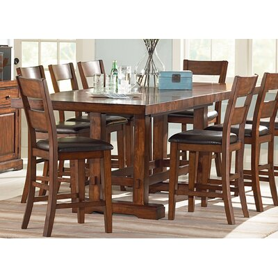9 Piece Counter Height Extendable Dining Set