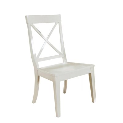 Nissen High-Back Desk Chair Finish: White