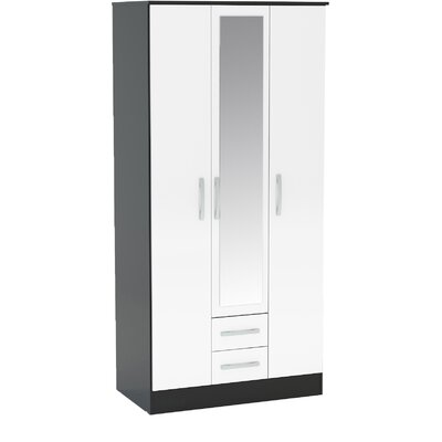 Birlea Lynx 3 Door Wardrobe