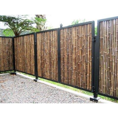"Rolled Fence Size: 72"" H, Color: Black"