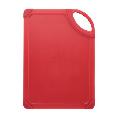 Non-slip Cutting Board Color: Translucent Red