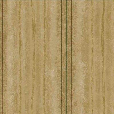 """4 Walls Lodge Décor 33' x 20.5"""" Stripes Wallpaper"""