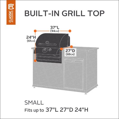 Classic Built-IN Grill Cover Size: Small