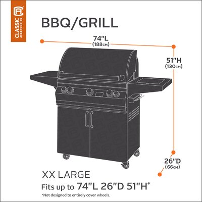 Classic BBQ Grill Cover Size: XX-Large