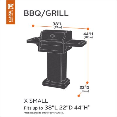 Classic BBQ Grill Cover Size: X-Small