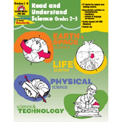 Evan-Moor Read and Understand Science Grade 2-3 Book