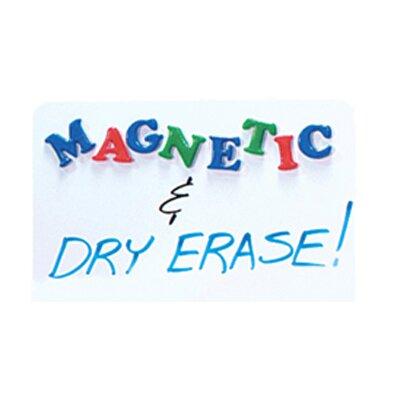 Flipside Dry Erase Magnetic Lap Board Whiteboard, 2' H x 3' W