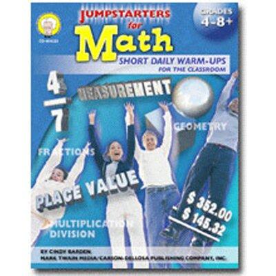 Frank Schaffer Publications/Carson Dellosa Publications Jumpstarters for Math Grade 7 Book