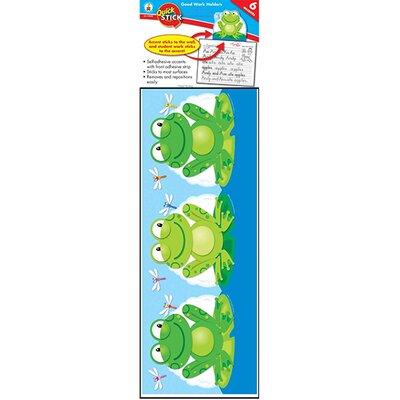 Frank Schaffer Publications/Carson Dellosa Publications Frog Good Work Holder Quick Stick Letters