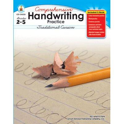 Frank Schaffer Publications/Carson Dellosa Publications Comprehensive Handwriting Practice Letters