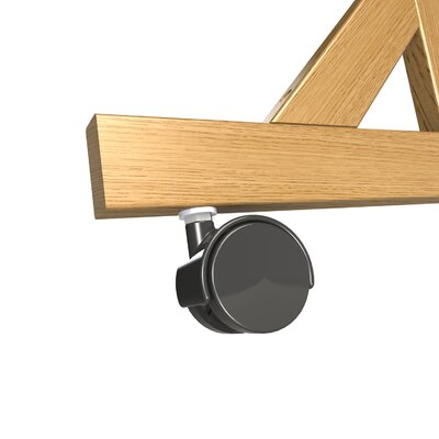 Ghent Casters for Wood Frame Reversible, 4-Count