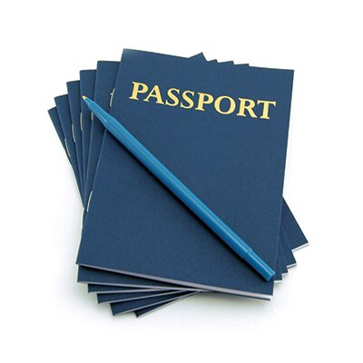 Hygloss Products Inc My Passport Notepad