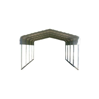Classic 12 Ft. x 38 Ft. Canopy Color: Gray