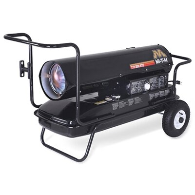 Kerosene Forced Air Utility Heater Power: 336 W / 120 V / 2.8 Amps