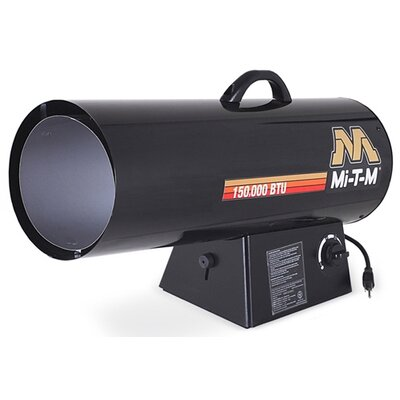 Mi-T-M 150,000 BTU Portable Propane Forced Air Utility Heater