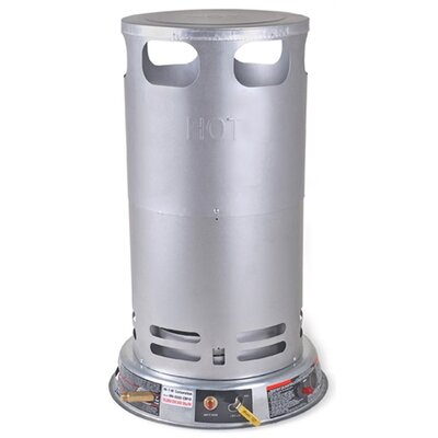 Mi-T-M Gas-Fired 200,000 BTU Portable Propane Convection Utility Heater