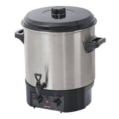 Steba 27L Stainless Steel Cooker and Mulled Wine Cooker