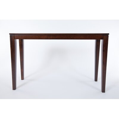 Brazil Bamboo Console Table Color: Java/Chocolate Brown