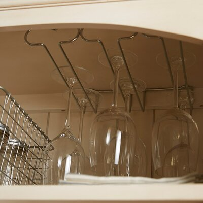 Kerfoot Triple Hanging Wine Glass Rack