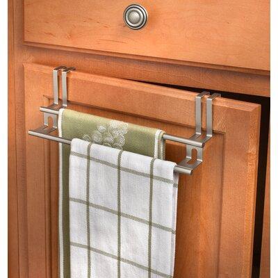 Double Over-the-Door Towel Bar Finish: Brushed Nickel
