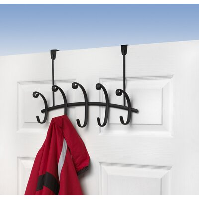 Willow 5-Hook Rack Finish: Black