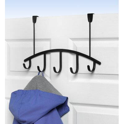 Allegro 5-Hook Rack Finish: Black