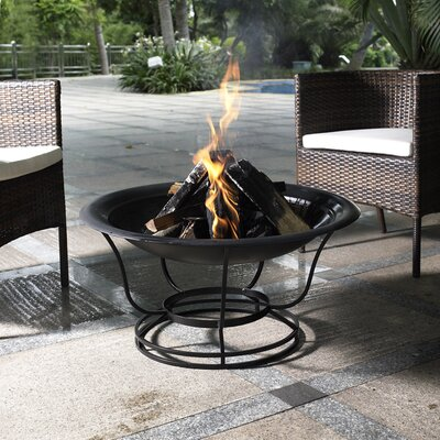 Buckner Steel Wood Burning Fire Pit