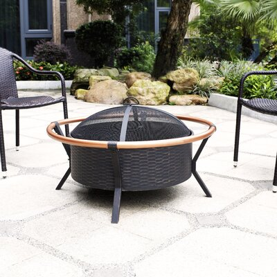 Yuma Ring Steel Wood Burning Fire Pit
