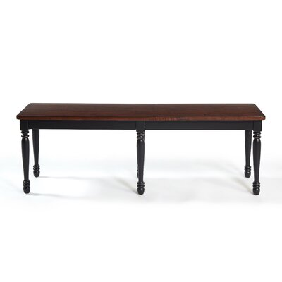 Kivalina Bench Color: Black