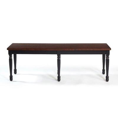Kivalina Bench Color: Black
