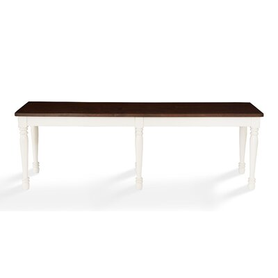 Kivalina Bench Color: White