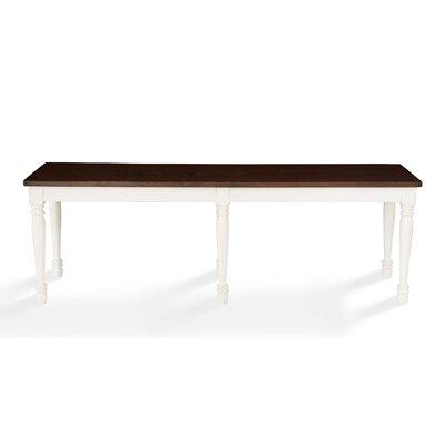 Kivalina Bench Color: White