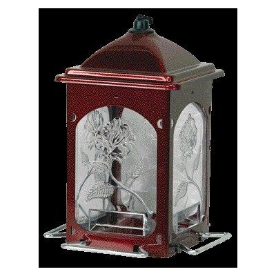 Homestead/Gardner Rose Decorative Hopper Bird Feeder