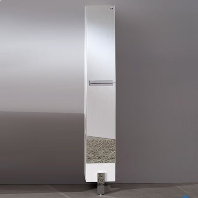 "Adour 9.75"" x 75"" Surface Mount Medicine Cabinet Finish: Mirror"