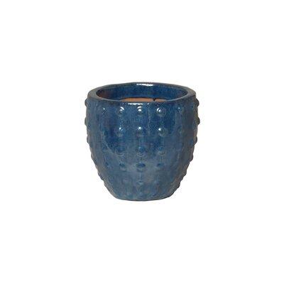 "Stud Ceramic Pot Planter Size: 8"" H x 9"" W x 9"" D"