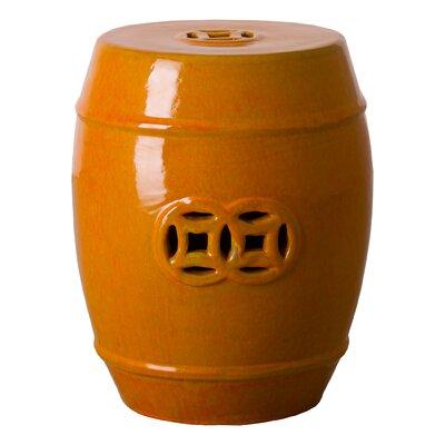 Gauvin Stool Color: Burnt Orange