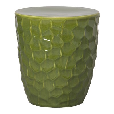Honeycomb Garden Stool Finish: Green