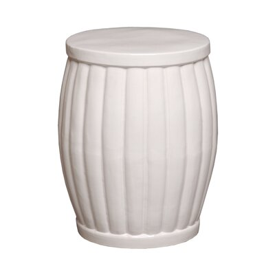 Garden Stool Color: White